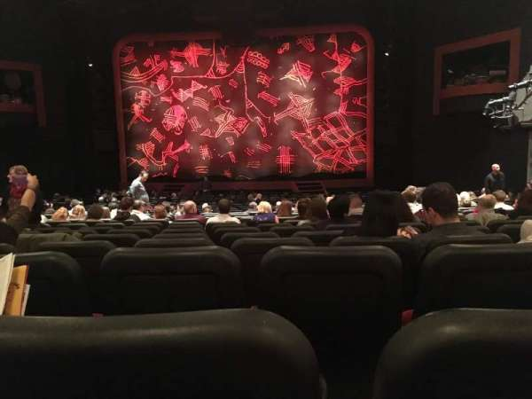 Minskoff Theatre, section: Orchestra C, row: Z, seat: 122