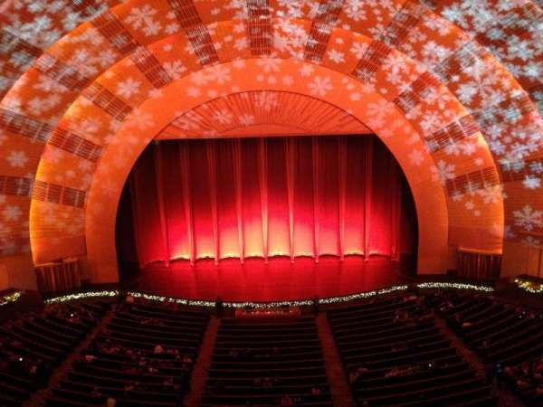 radio city music hall, section: 3rd Mezzanine 4, row: a, seat: 406
