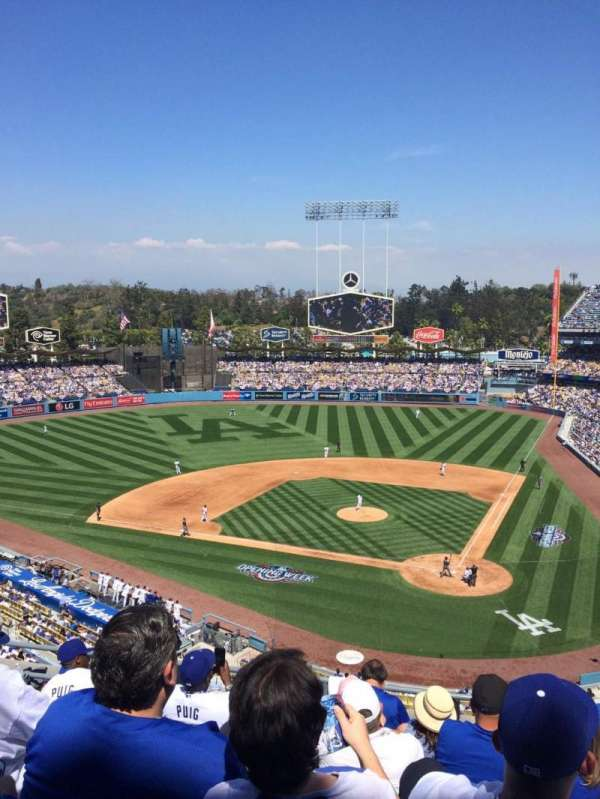Dodger Stadium, section: 7, row: G, seat: 9