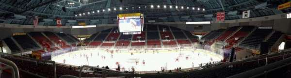 Bojangles' Coliseum, section: 124, row: AA, seat: 12