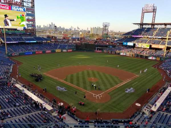Citizens Bank Park, section: 321, row: 3, seat: 15