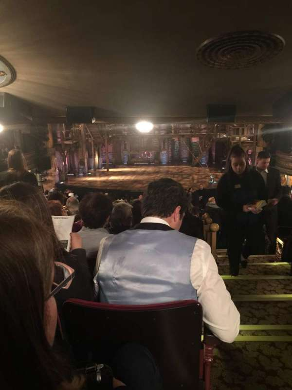 Richard Rodgers Theatre, section: Standing Room Only, seat: 101