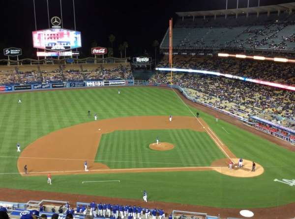 Dodger Stadium, section: 15RS, row: L, seat: 2