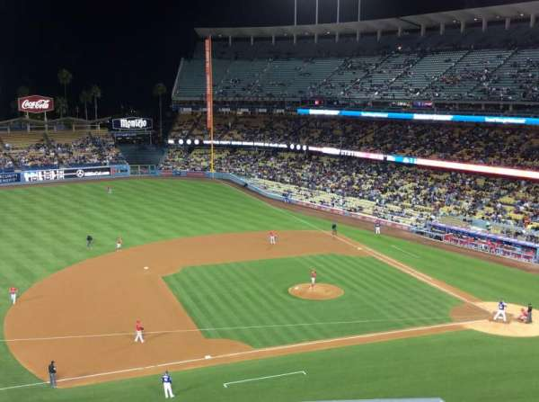 Dodger Stadium, section: 23RS, row: E, seat: 7