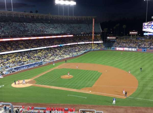Dodger Stadium, section: 24RS, row: E, seat: 10