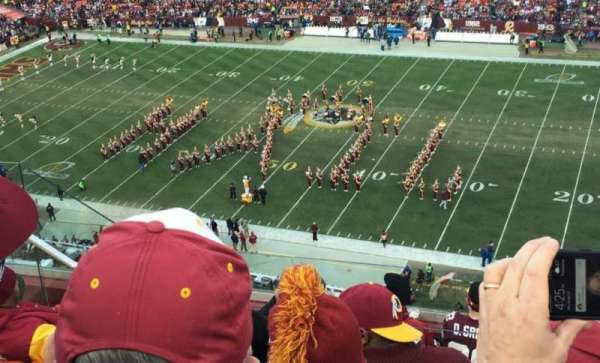 FedEx Field, section: 452, row: 8, seat: 14