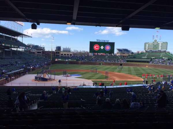 Wrigley Field, section: 226, row: 14, seat: 5