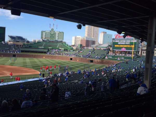 Wrigley Field, section: 222, row: 14, seat: 5