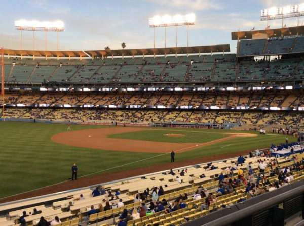 Dodger Stadium, section: 157LG, row: F, seat: 7