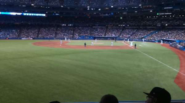 Rogers Centre, section: 136R, row: 3, seat: 10