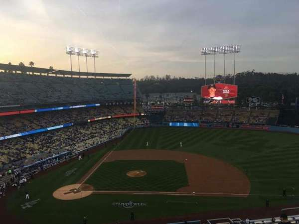 Dodger Stadium, section: 16RS, row: J, seat: 5