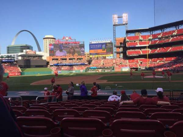 Busch Stadium, section: 156, row: 3, seat: 7