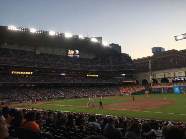 Minute Maid Park, section: 128, row: 24, seat: 20