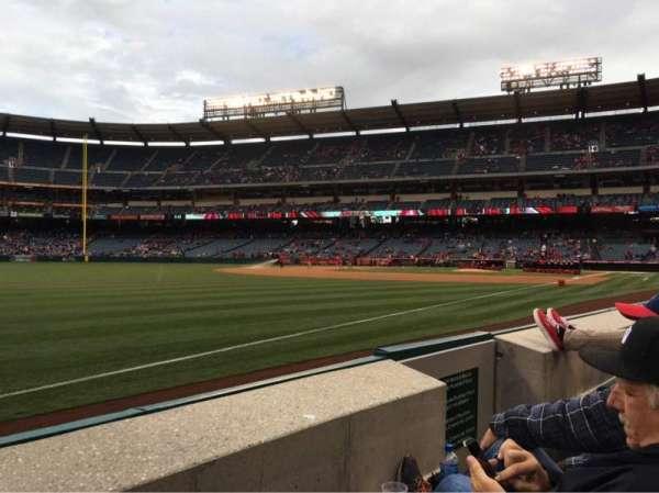 Angel Stadium, section: F106, row: B, seat: 13
