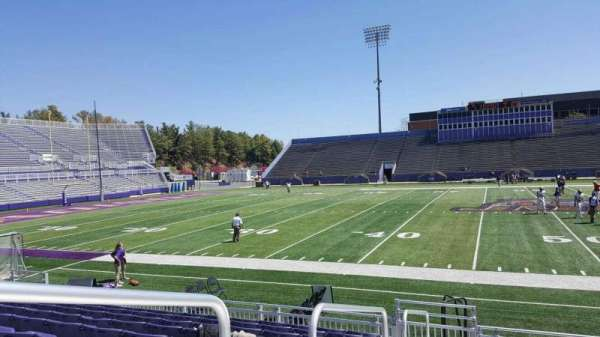 Bridgeforth Stadium, section: 106, row: i, seat: 16