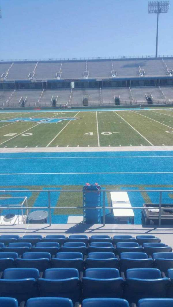 Johnny Red Floyd Stadium, section: 1R, row: 8, seat: 3