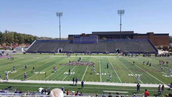 Bridgeforth Stadium, section: c3, row: i, seat: 1