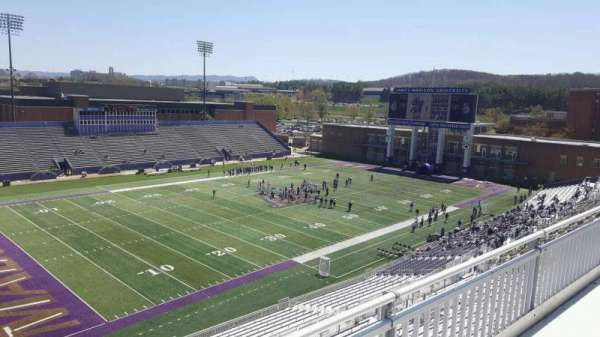 Bridgeforth Stadium, section: 311, row: b, seat: 21