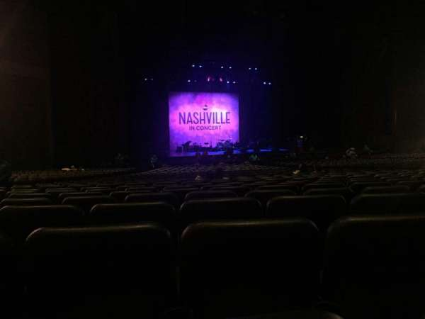 Microsoft Theater, section: Orchestra Left Center, row: FF, seat: 416