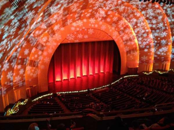 Radio City Music Hall, section: 3rd Mezzanine 7, row: F, seat: 709