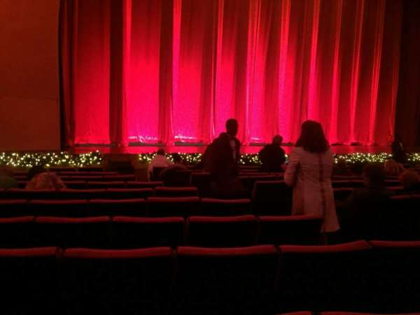 Radio City Music Hall, section: Orchestra 6, row: PP