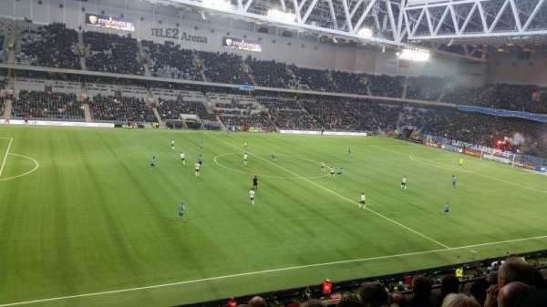 Tele2 Arena, section: B305, row: 5, seat: 240