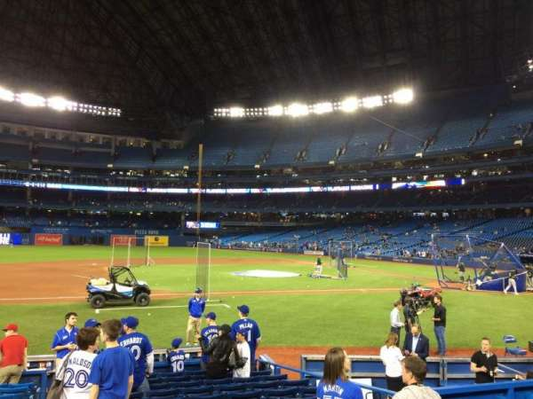 Rogers Centre, section: 127R, row: 13, seat: 1
