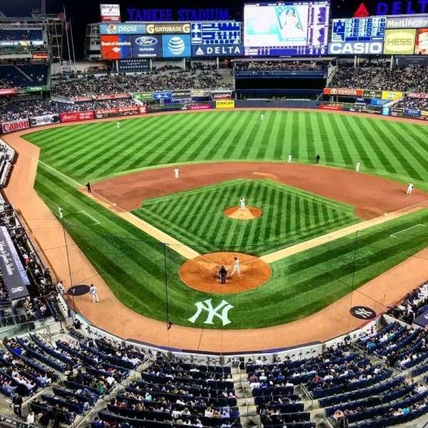 Yankee Stadium, section: 320A, row: 1, seat: 15