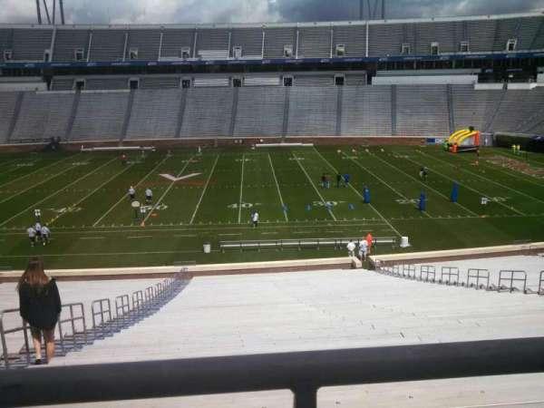 Scott Stadium, section: 124, row: TT, seat: 18