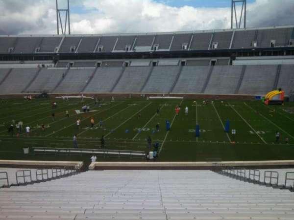 Scott Stadium, section: 123, row: KK, seat: 12