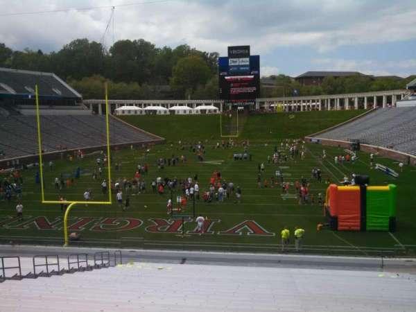 Scott Stadium, section: 115, row: HH, seat: 15