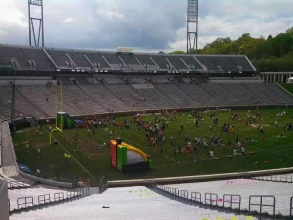 Scott Stadium, section: 112, row: SS, seat: 11