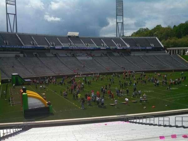 Scott Stadium, section: 111, row: FF, seat: 16