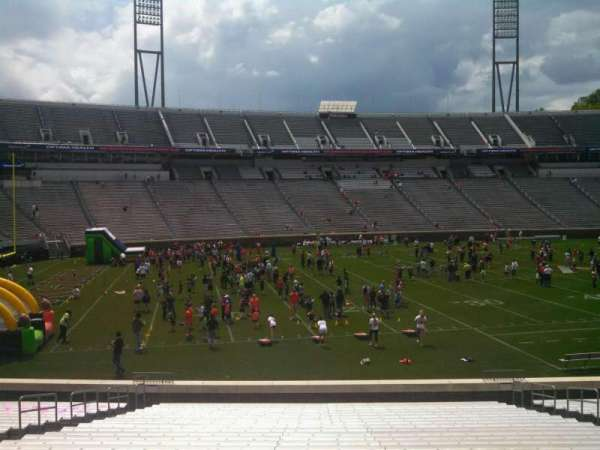 Scott Stadium, section: 110, row: AA, seat: 13