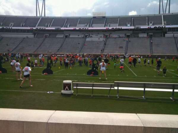 Scott Stadium, section: 106, row: C, seat: 11
