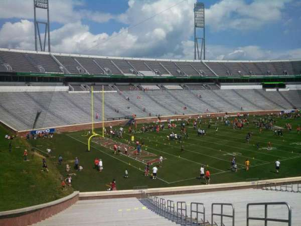 Scott Stadium, section: 131, row: NN, seat: 5