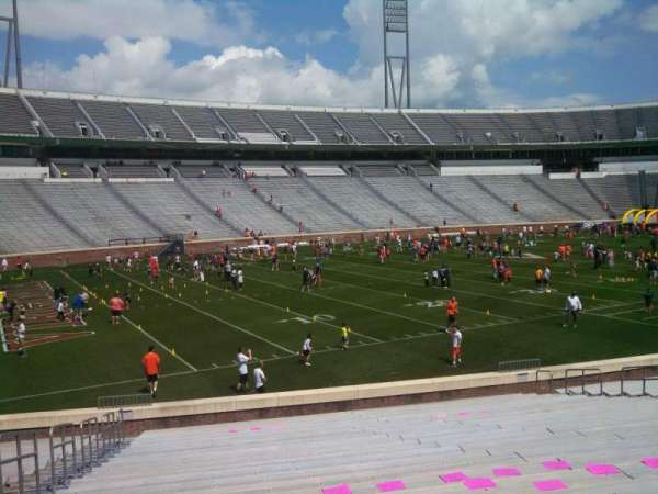 Scott Stadium, section: 129, row: Y, seat: 21