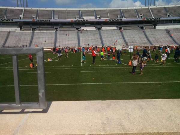 Scott Stadium, section: 125, row: A, seat: 22
