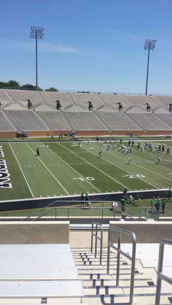 Apogee Stadium, section: 212, row: 10, seat: 1