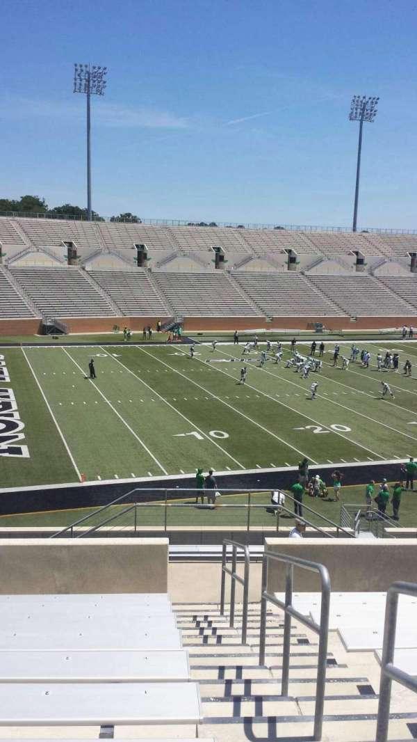 Apogee Stadium, section: 212, row: 10, seat: 1