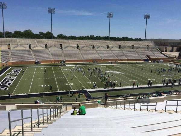Apogee Stadium, section: 210, row: 23, seat: 8