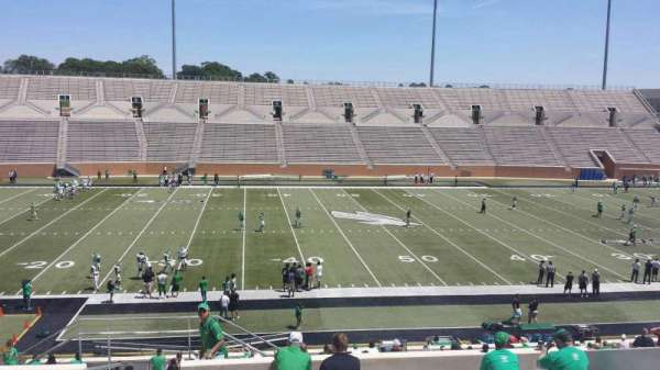 Apogee Stadium, section: 207, row: 10, seat: 27