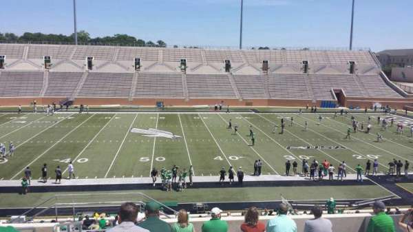 Apogee Stadium, section: 206, row: 10, seat: 26
