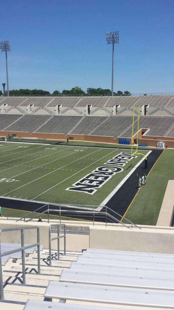Apogee Stadium, section: 202, row: 10, seat: 11