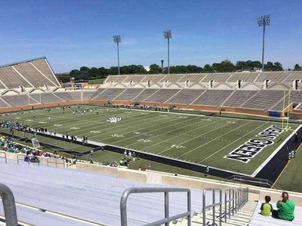 Apogee Stadium, section: 202, row: 20, seat: 11