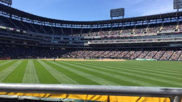 Guaranteed Rate Field, section: 102, row: 1, seat: 10