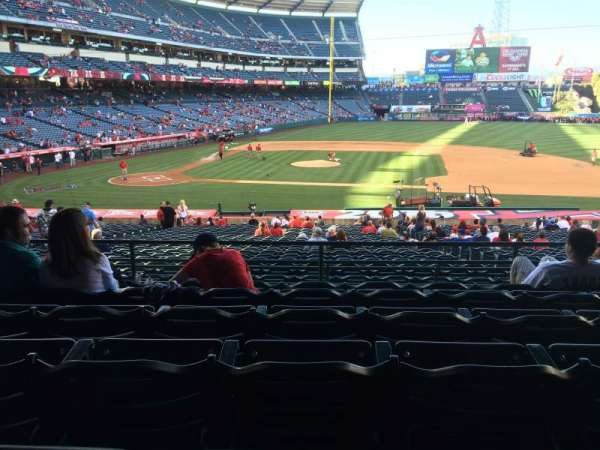 Angel Stadium, section: T223, row: F, seat: 11