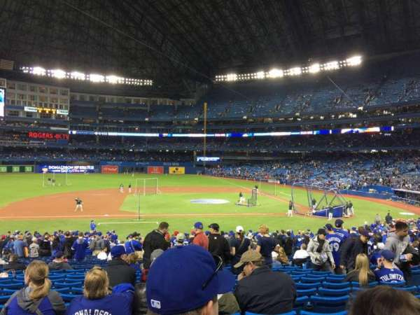 Rogers Centre, section: 125L, row: 33, seat: 109
