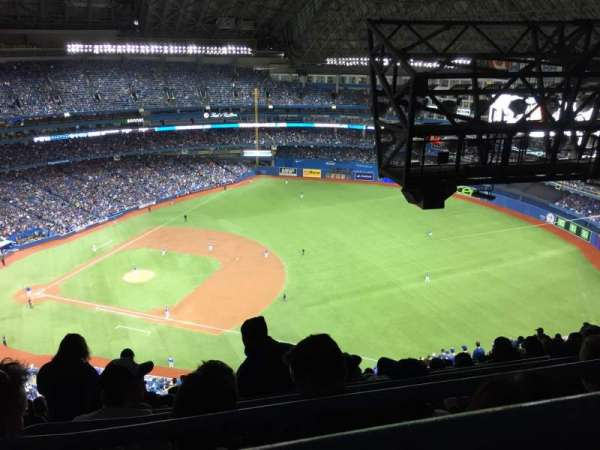 Rogers Centre, section: 515R, row: 35, seat: 1