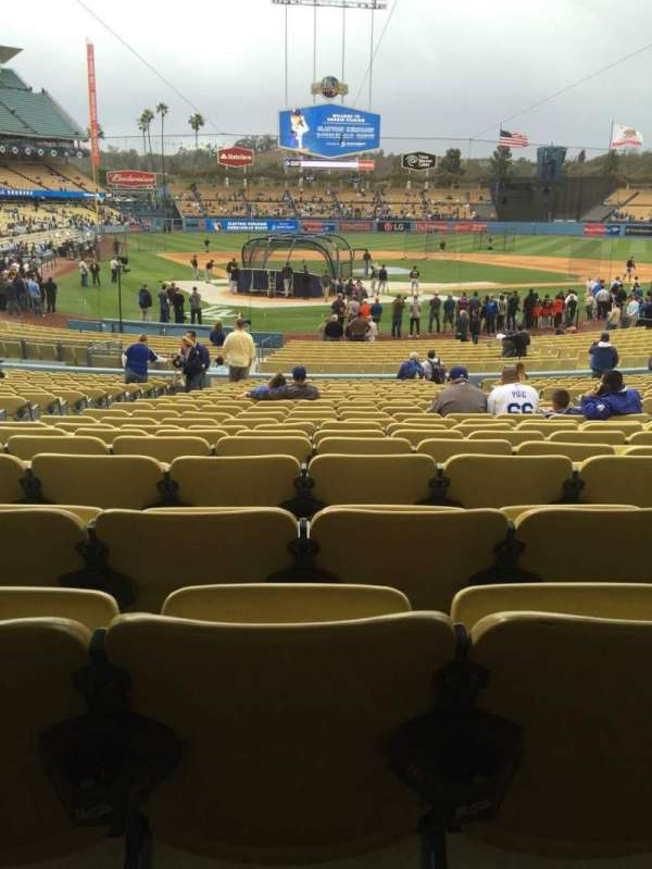 Dodger Stadium, section: 6fd, row: w, seat: 6